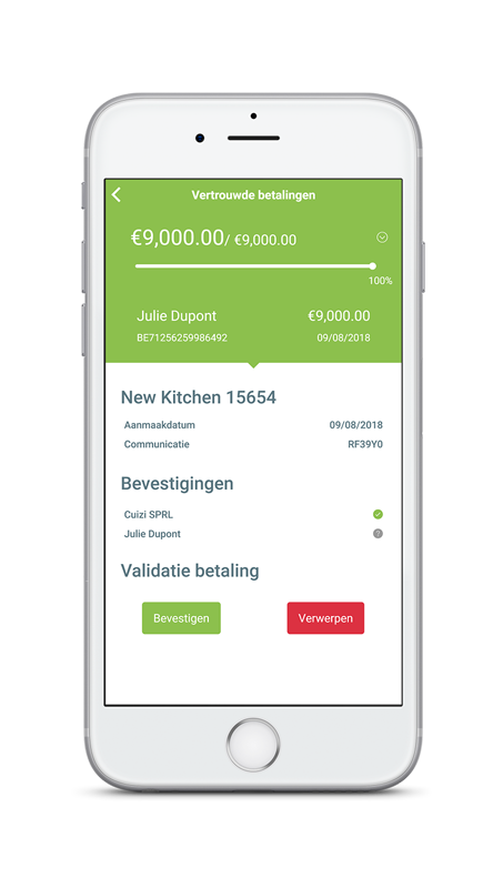 Digiteal trusted payment details on iphone