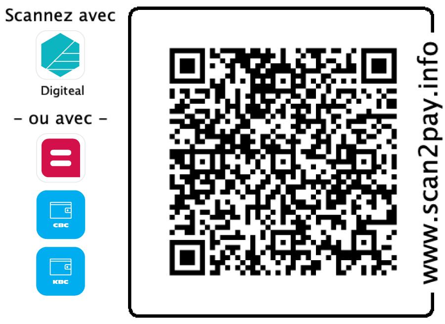 Recevoir des dons avec Digiteal - FRB QR Code