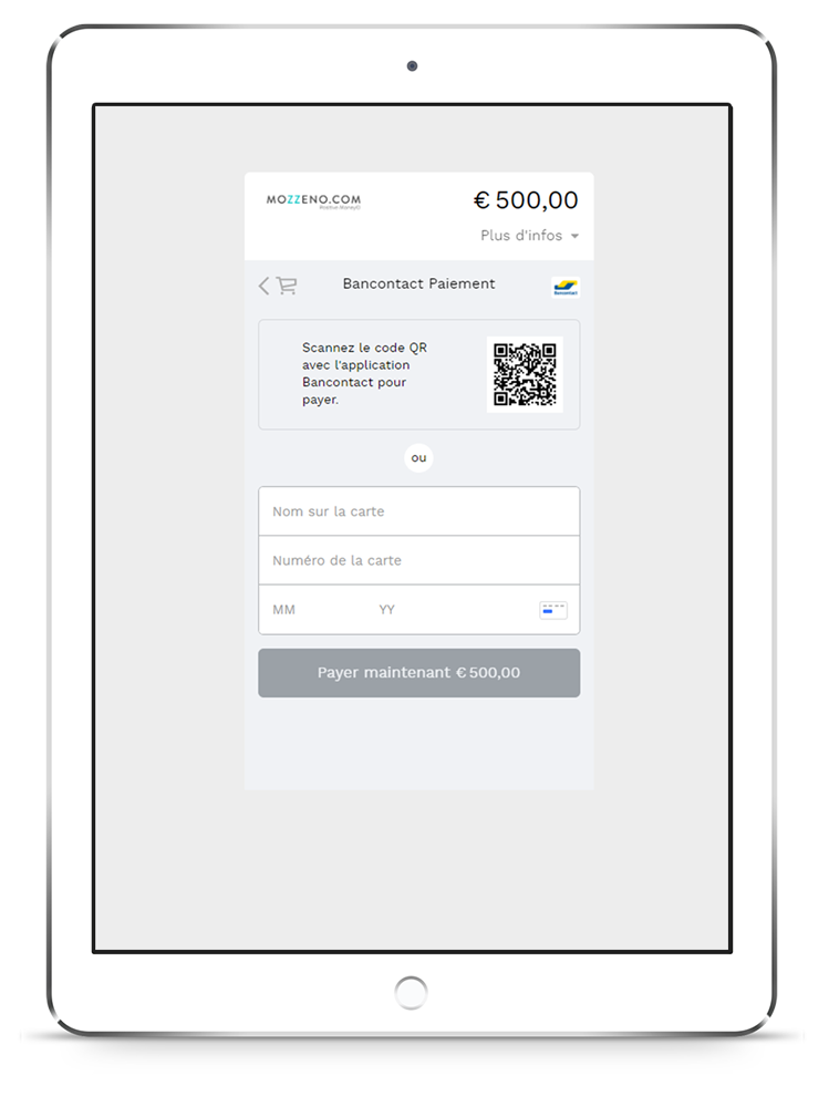 Mozzeno paiement digiteal ipar